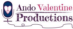 Ando Valentine Productions logo